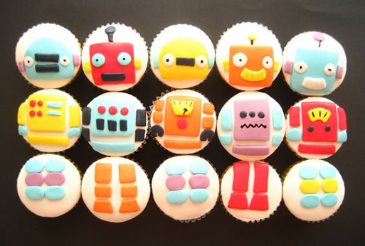 Robot_cupcakes_by_sagethemouse