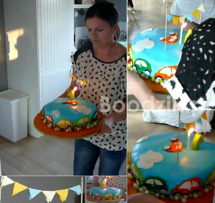 pierwszy tort urodzinowy